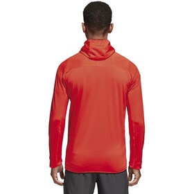 adidas TERREX TraceRocker Jacket Men Hi-Res Red